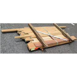 "Wood Bundle, 86 Total Board Ft, 1"" x 7' Ave Per Piece"
