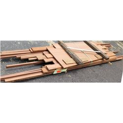 "Wood Bundle, 218 Total Board Ft, 1"" x 11' Ave Per Piece"