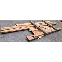 "Western Red Cedar Bundle, 86 Total Board Ft, 2"" x 12' Ave Per Piece"