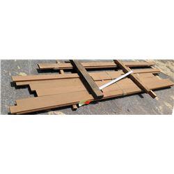 """Cumaru Bundle, 28 Total Board Ft, 1"""" x 11' Ave Per Piece"""