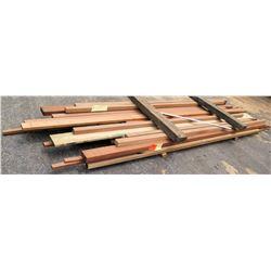 "Wood Bundle, 158 Total Board Ft, 1"" x 10' Ave Per Piece"