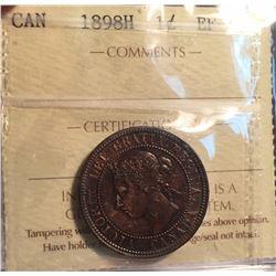 1898-H Canada 1 Cent