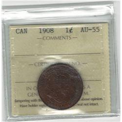 1908 Canada 1 Cent