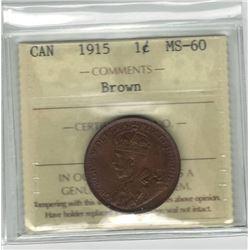 1915 Canada 1 Cent