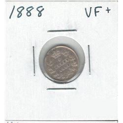 1888 Canada 5 Cent
