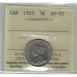 1923 Canada 5 Cent