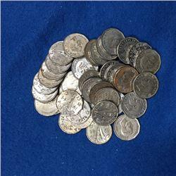 1944 Canada 5 Cent Coin Set