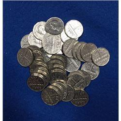 1951 Canada 5 Cent Coin Set