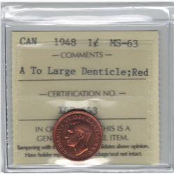 1948 Canada 1 Cent