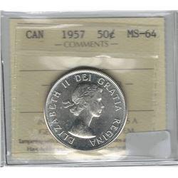 1957 Canada 50 Cent