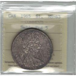1965 Canada 1 Dollar