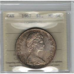 1967 Canada 1 Dollar