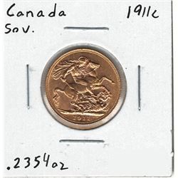 1911-C Canada Gold Coin