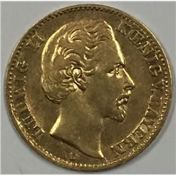 1873-D Germany Gold Coin