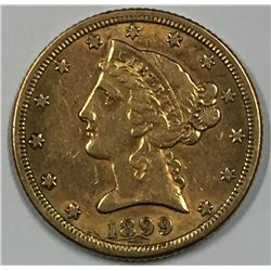 1899-S USA Gold Coin