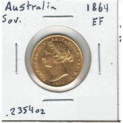 1864 Australia Gold Coin