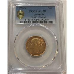 1879-S Australia Gold Coin