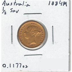 1884-M Australia Gold Coin