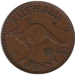 1942-B Australia Penny