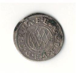 1625 German 2 Kreuzer
