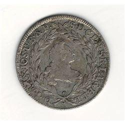 1768 German 10 Kreuzer