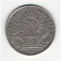 1781 German 20 Kreuzer