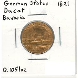 1821 German Gold Coin
