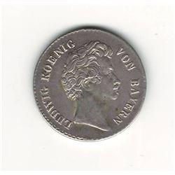 1828 German 6 Kreuzer