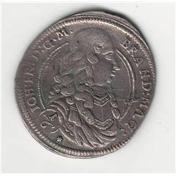 1677 German 1/6 Thaler