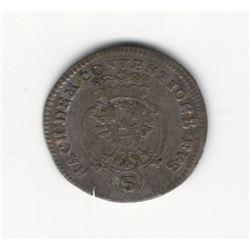 1770 German 2.5 Kreuzer