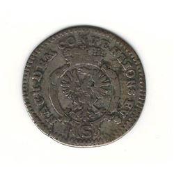 1774 German 2.5 Kreuzer