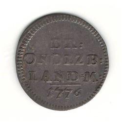1776 German 2.5 Kreuzer