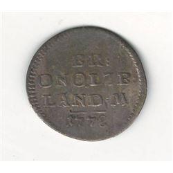 1778 German 2.5 Kreuzer
