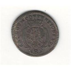 1780 German 2.5 Kreuzer