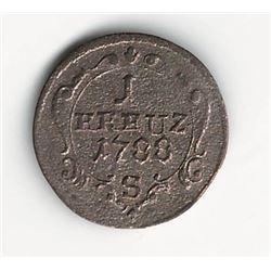 1788 German Kreuzer