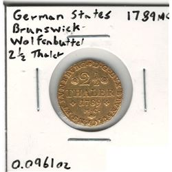 1789-MC German Gold Coin
