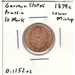 1879-C German Gold Coin