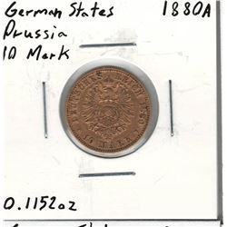 1880-A German Gold Coin