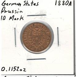 1880-A German Gold Coin