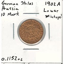 1902-A German Gold Coin