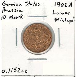 1902-A German Gold Coin