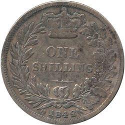1842 Great Britain Shilling