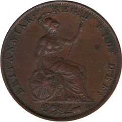 1854 Great Britain 1/2 Penny