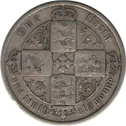1871 Great Britain Florin