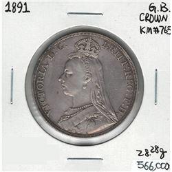 1891 Great Britain Crown