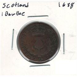 1678 Scotland 1 Bawbee