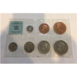 1965 New Zealand Coin Set