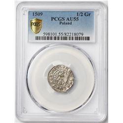 1509 Poland 1/2 Grosz