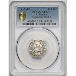 1512 Poland 1/2 Grosz