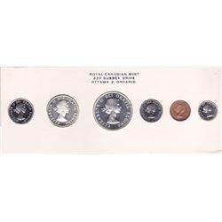 1960 Canada Coin Set